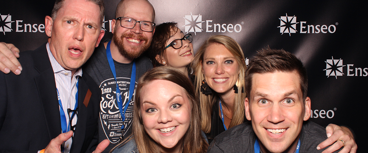 Enseo HITEC Party Photo Booth 2017