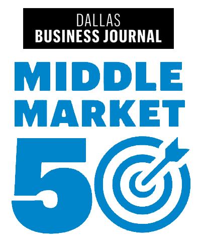 DBJ Middle Market 50 Logo