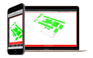MadeSafe's 3D map of a property displayed on a smart phone and laptop